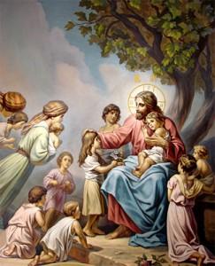 Пустите детей приходить ко Мне и не препятствуйте им, ибо таковых есть Царствие Небесное